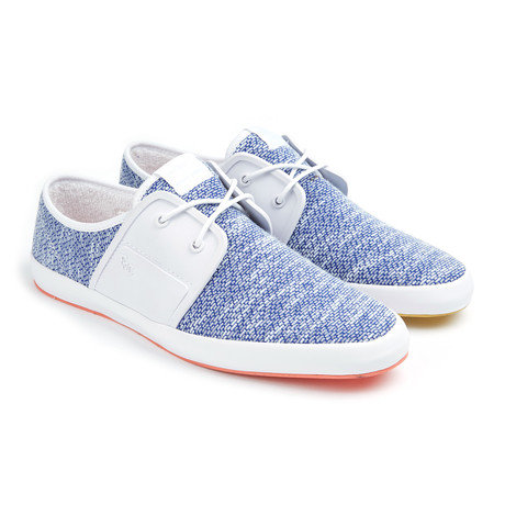 Fish n chips spam 2 sneaker blue white euro 41 for Fish and chips shoes