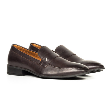 Mister Coben // Leather Loafer // Brown
