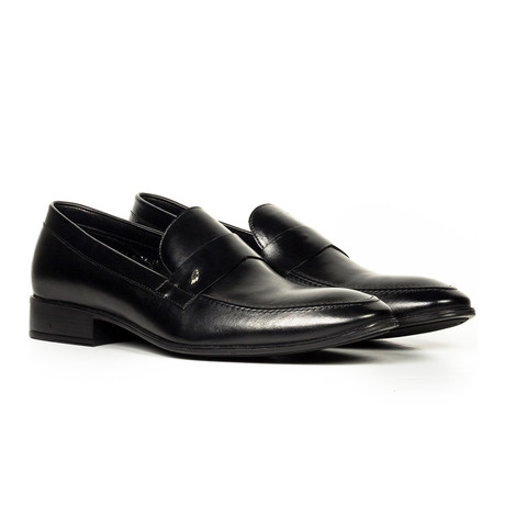 Leather Loafer // Black