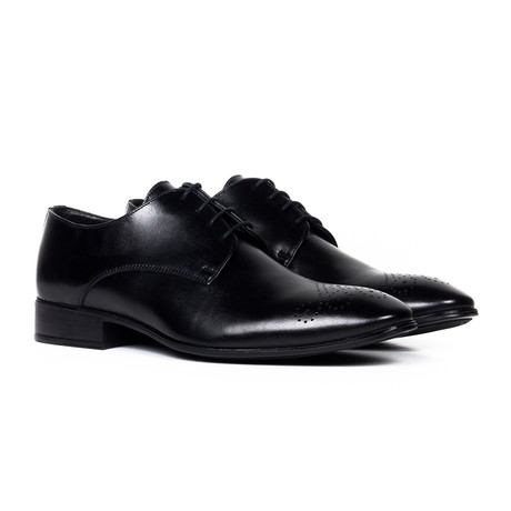 Leather Oxford Shoe // Black