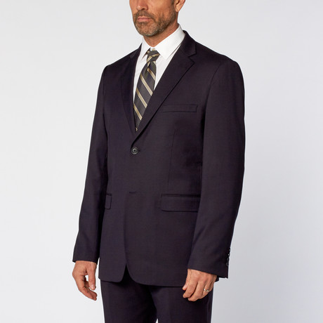 Classic Fit 2-Piece Solid Suit // Navy (US: 36S)