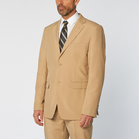 Classic Poly Suit // Tan (US: 36S)