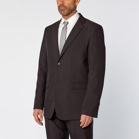 Classic Poly Suit // Charcoal (US: 36S)