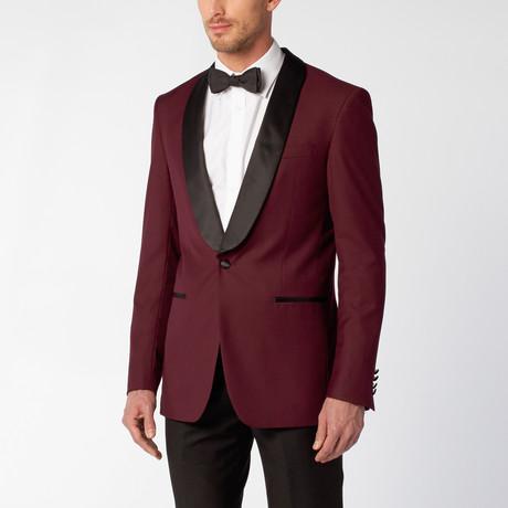 Shawl Tuxedo // Burgundy (US: 36S)