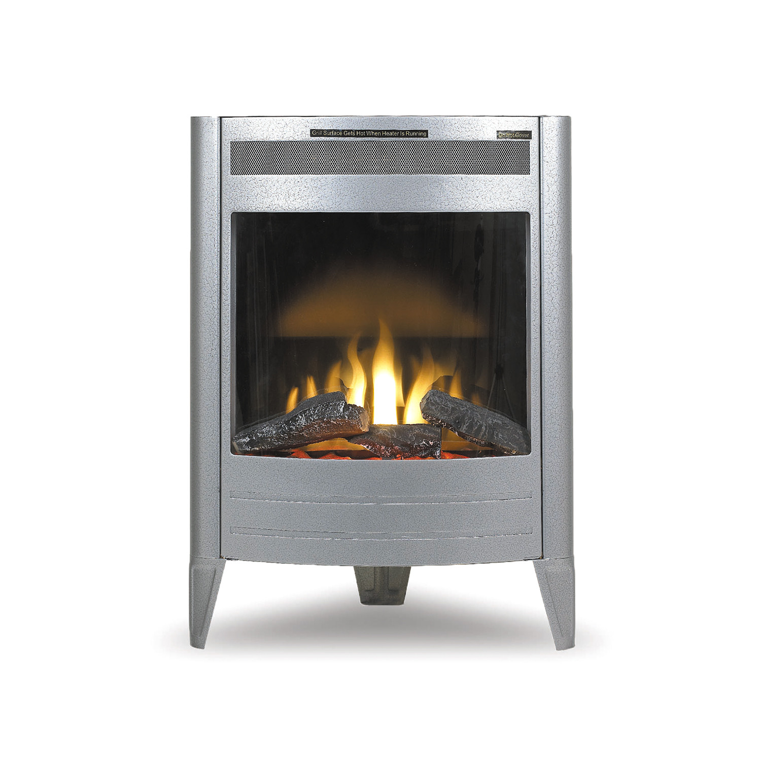 Cozy Corner Electric Stove - MyFireplaces - Touch of Modern