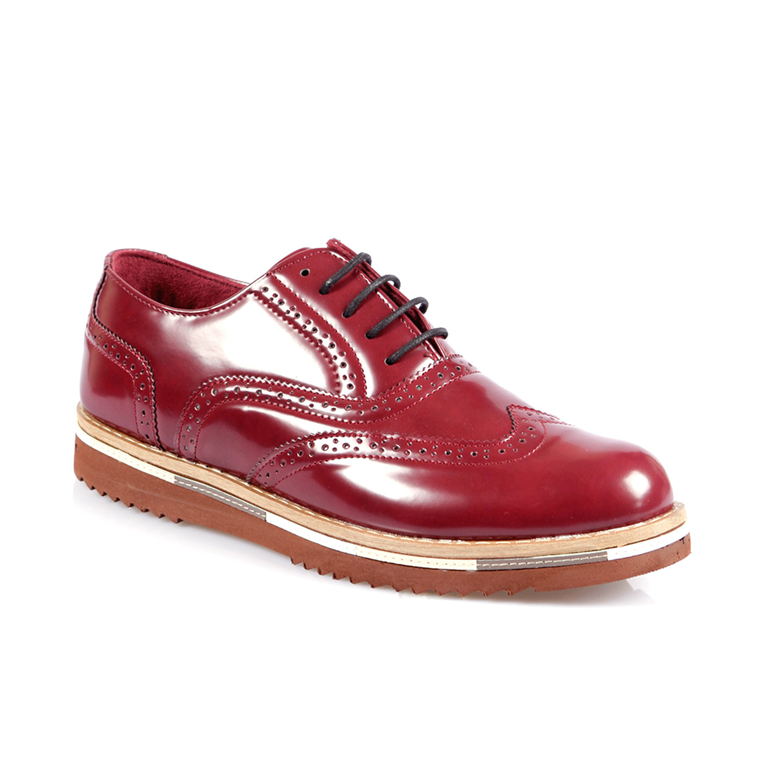 Patent leather bold oxford bordeaux euro 40 jag for Discotheque a bordeaux