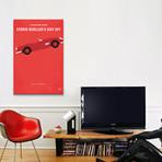 "Ferris Bueller's Day Off Minimal Movie Poster // Chungkong (26""W x 40""H x 1.5""D)"