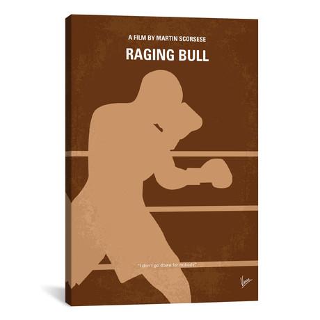 "Raging Bull (18""W x 26""H x 0.75""D)"