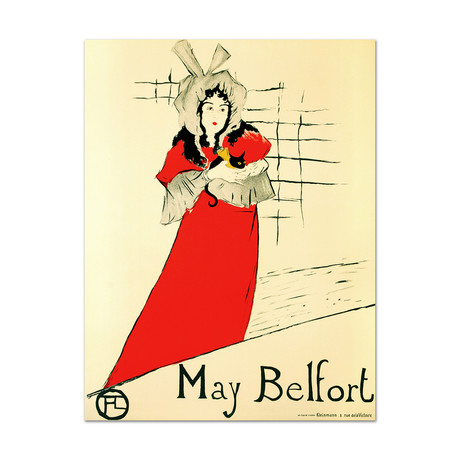 May Belfort // Hand-Pulled Lithograph