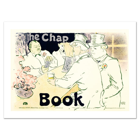 The Chap Book // Hand-Pulled Lithograph