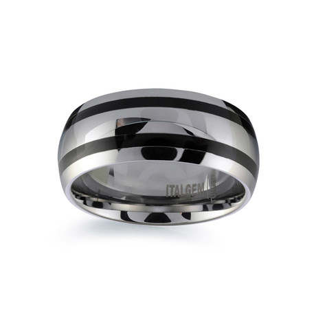 Tungsten Black Plated Band (Size 7)