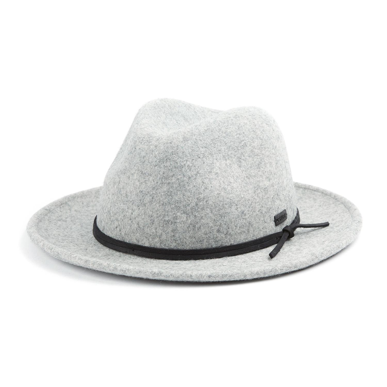 22a61d05c83 Munson Fedora Wool Hat // Heather Grey (L) - Original Chuck - Touch ...