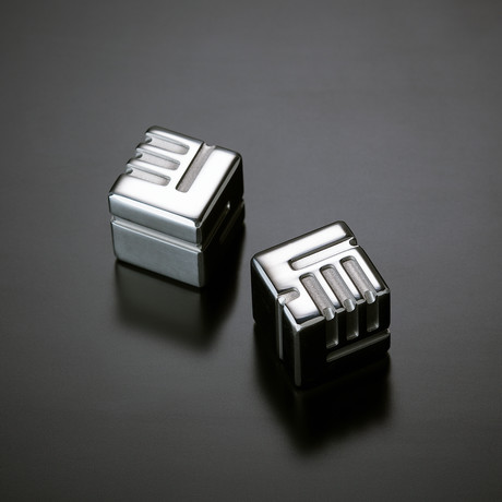 AKO DICE // Set of 2 // Stainless Steel