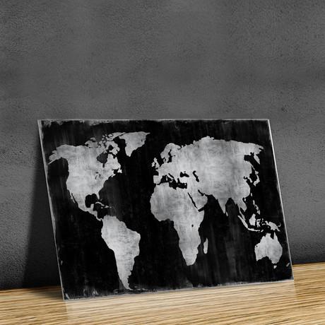 The World // Silver + Black
