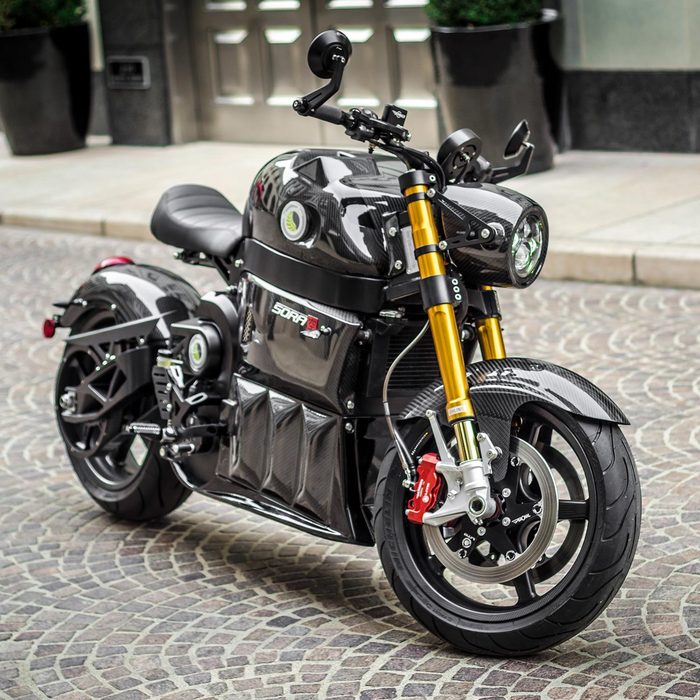 Sora Signature Series // Electric Motorcycle