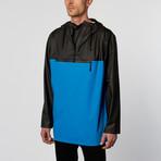 Rains UK // Anorak // Black + Sky Blue (M/L)