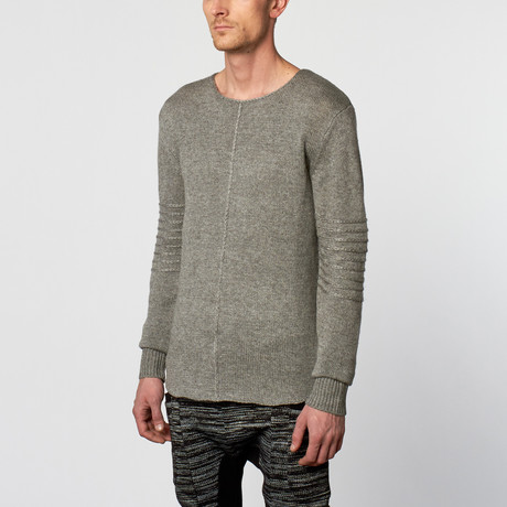 Turner Sweater // Heather Grey