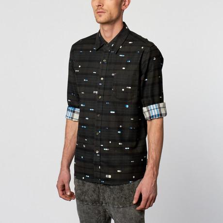 Jensen Long-Sleeve Dress Shirt // Caviar