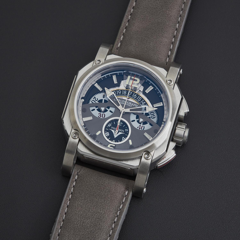 visconti 2squared chronograph automatic w105 03 124