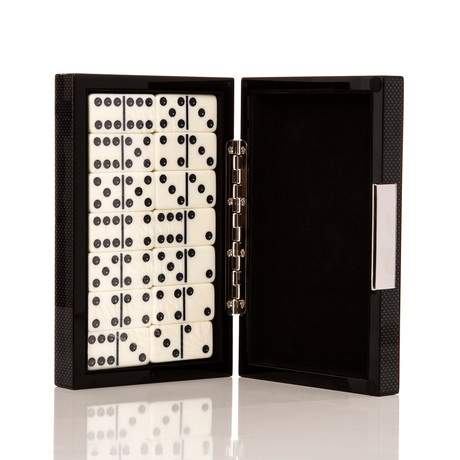 Carbon Series Poker Set // Dominos