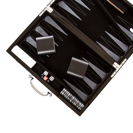 Carbon Series Backgammon Set