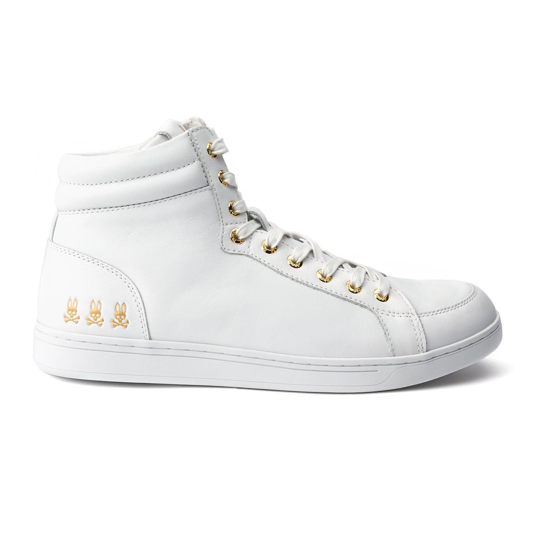 Psycho Bunny Lost Boy Leather Sneaker Kw9DPgjX