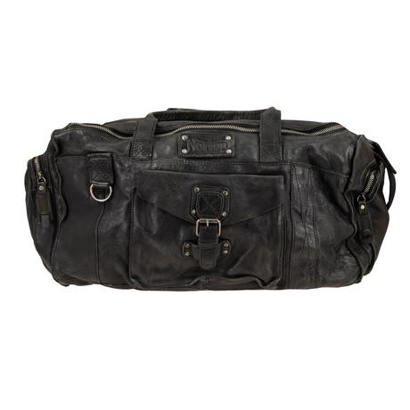 Leather Holdall // Black