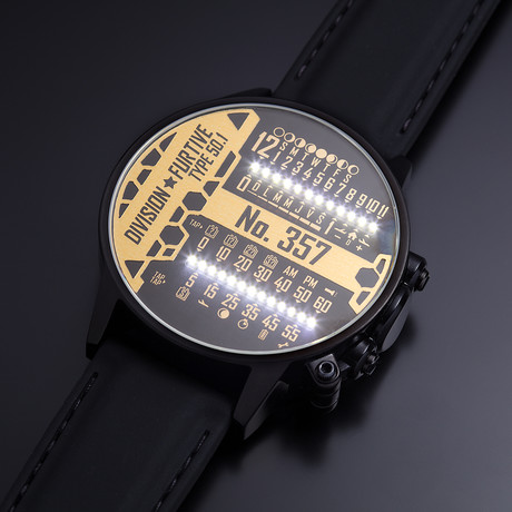 Division Furtive // Type 50.1 Watch // Dual Linear Movement (Pacific Time)