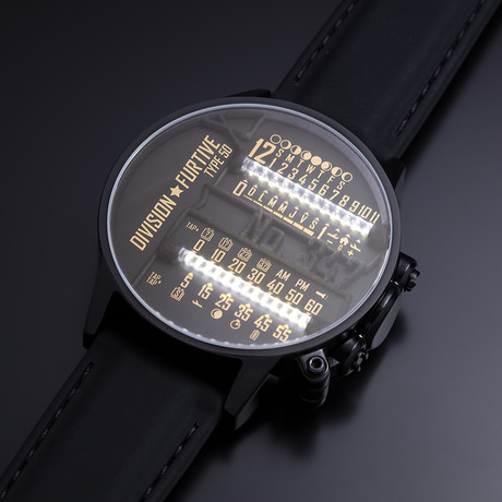 Division Furtive // Type 50X Watch // Dual Linear Movement (Pacific Time)