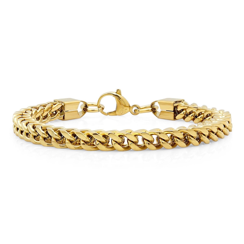 8176f2ffaa138 5723350c78ee549c66a0feb7295a96d4 medium. 18k Gold Plated Box Chain Bracelet