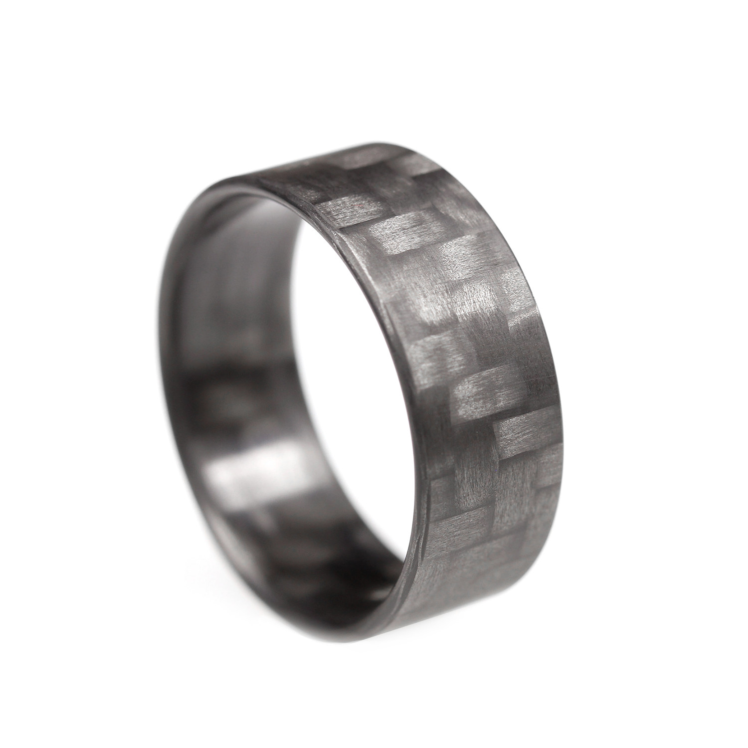 12 000 Enement Ring | Twill Ultralight Carbon Fiber Ring Size 12 Element Rings Touch