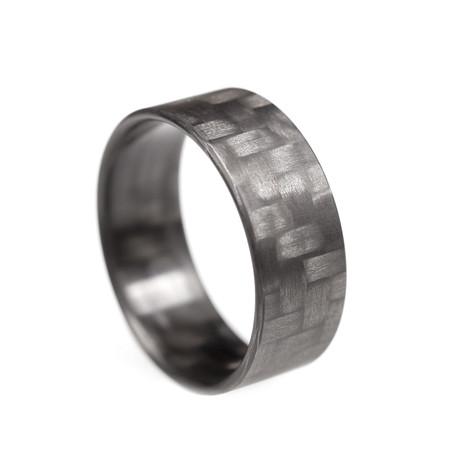Twill Ultralight Carbon Fiber Ring