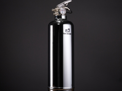 Fire Design Contemporary Fire Extinguishers Chrome