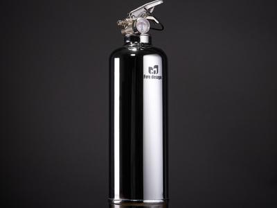 Fire Design Contemporary Fire Extinguishers Chrome