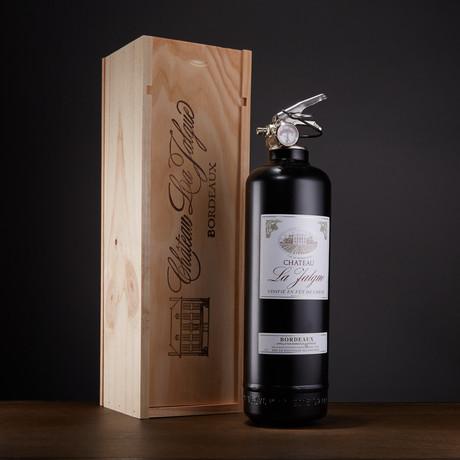 French Wine + Wooden Box (Black)