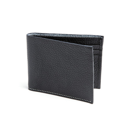 Classic Leather Wallet // Black