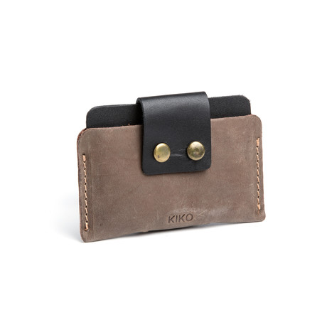 Leather Card Case // Brown
