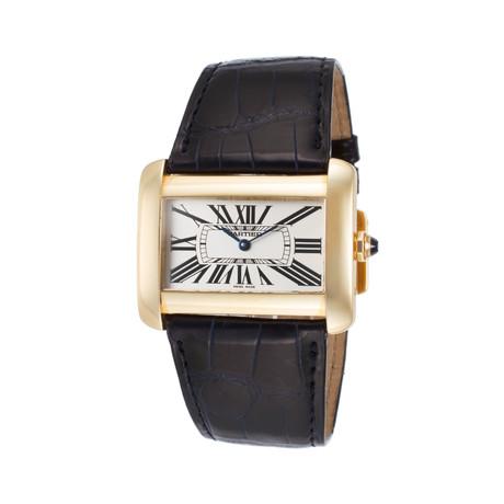 Cartier Tank Divan Quartz // W6300556 // Store Display