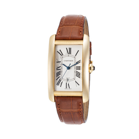 Cartier Tank Americaine Automatic // W2603156 // Store Display
