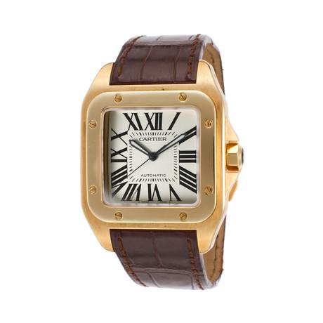 Cartier Santos 100 Automatic // W20071Y1 // Store Display