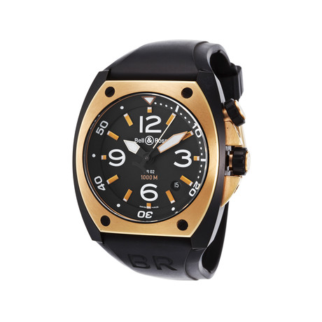Bell & Ross Aviation Automatic // 02-PINK-GOLD // Store Display
