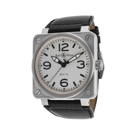 Bell & Ross Aviation Automatic // 0192-WH-ST // Store Display