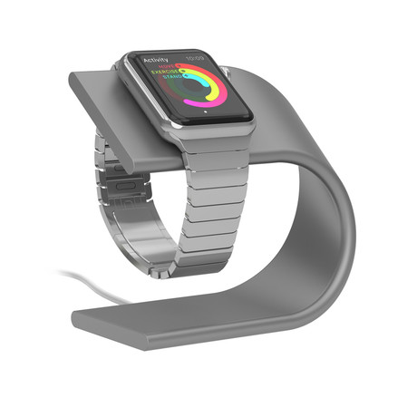 Apple Watch Stand (Silver)