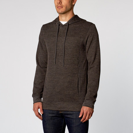 Nidal Hooded Pullover // Charcoal (S)