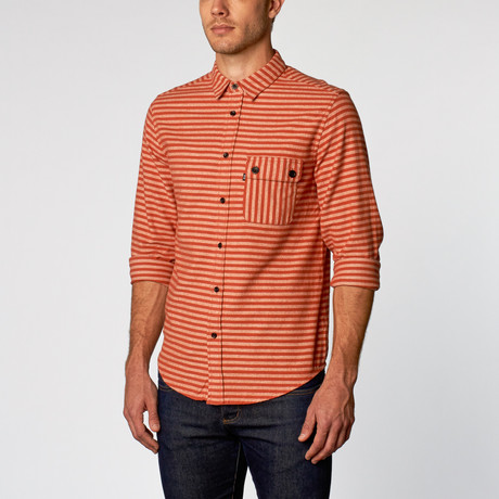 Olaf II Button-Up // Orange (S)