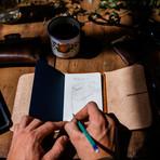 The Mowat // Pocket Notebook Cover (Café)