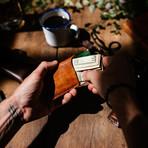 The Chas // Handmade Cardholder + Billfold (Café)