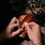 The Aubrey // Leather Tobacco Pouch // Café