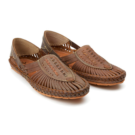 Aristocrat Sandals // Brown