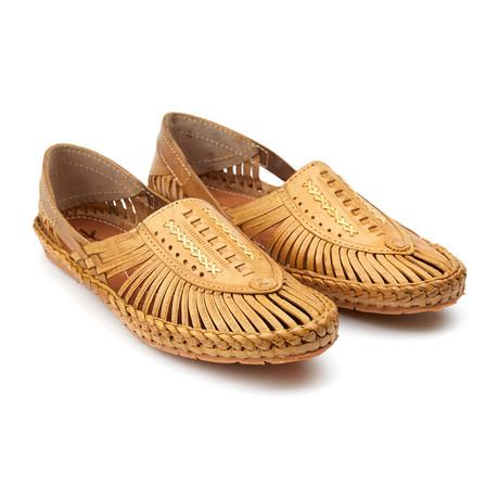 Aristocrat Sandals // Natural